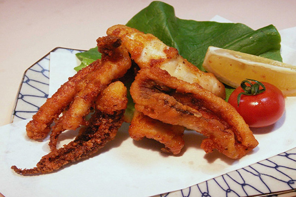 Breaded squid tentacles Featured Image