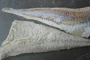 Dried fish fillets